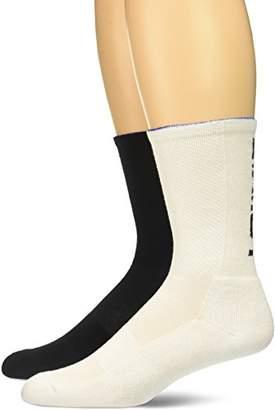 2xist 2(X) IST Men's 2 Pair Crew Athletic Sock
