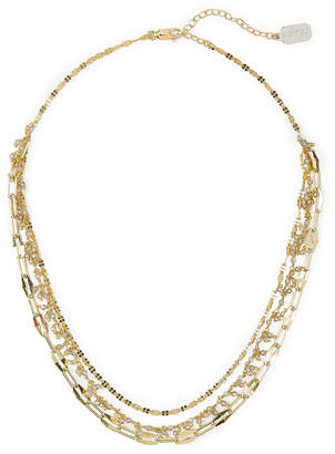 ela rae Three Chain Layer Necklace