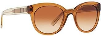 Burberry Women's 0BE4210 356413 Sunglasses,52