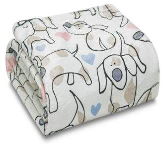Bed Bath & Beyond Hearts & Hounds Throw Blanket
