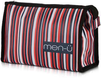 Men U men-u Stripes Toiletry Bag Blue/Red/White