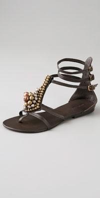 Antik Batik Juddy Beaded Thong Sandal