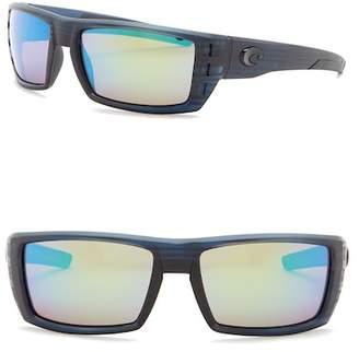 Costa del Mar Rafael Polarized 59mm Rectangular Sunglasses