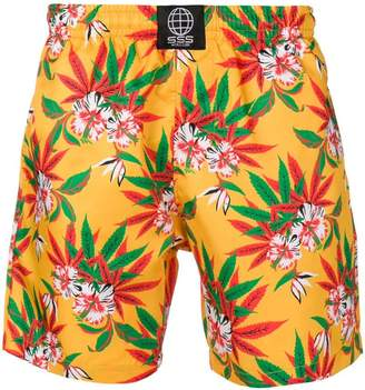 Trunks Sss World Corp floral print swimming