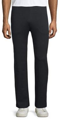 Ermenegildo Zegna Jersey Track Pants, Black $395 thestylecure.com