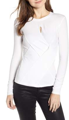 Bailey 44 Dunaway Woven Front Top