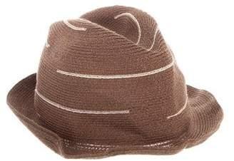 Borsalino Patterned Bucket Hat w/ Tags