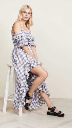 Steele Carine Flare Midi Dress