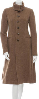 Ralph Lauren Collection Wool Tweed Coat w/ Tags $1,095 thestylecure.com