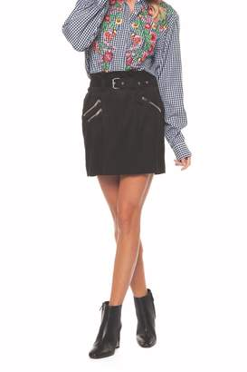 Dex Belted Mini Skirt