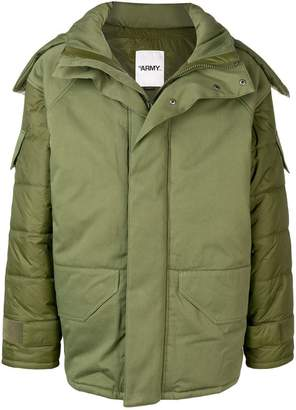 Yves Salomon hooded jacket
