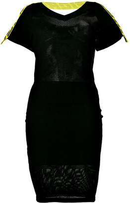 Diesel logo band dress
