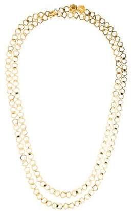 Eddie Borgo Long Chain-Link Necklace