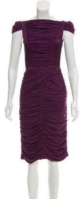 Burberry Knee-Length Silk Dress