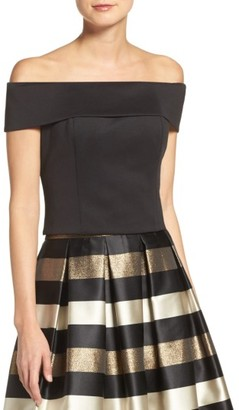 Women's Eliza J Off The Shoulder Top $108 thestylecure.com