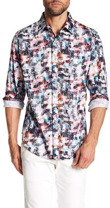 Robert Graham Ramblewood Print Classic Fit Woven Shirt