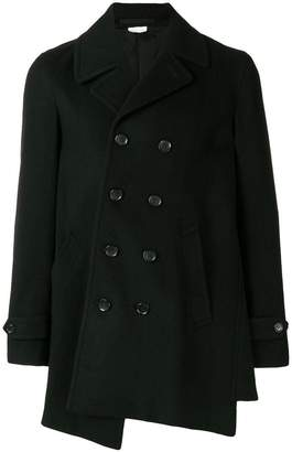 Comme des Garcons asymmetrical double-breasted coat