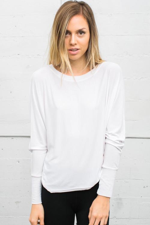 Joah Brown - Vital Long Sleeve In White