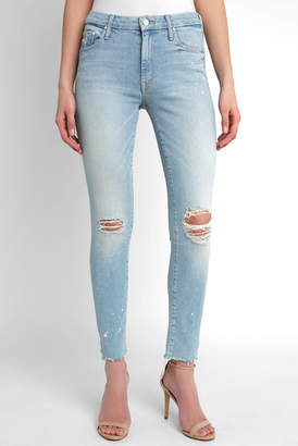Mother The Looker Sacred High Rise Distressed Skinny Jean