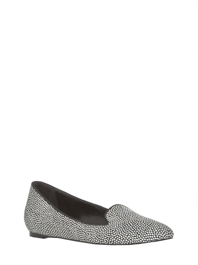 Alice + Olivia Drake Dotted Leather Flat