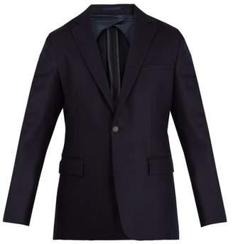 Kilgour Notch Lapel Wool Blazer - Mens - Navy