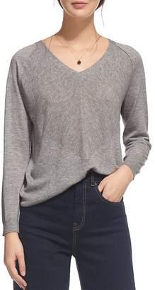 Whistles Oversize V-Neck Sweater