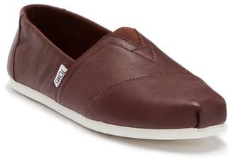 Toms Alpargata Leather Slip-On Shoe