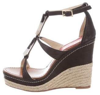 41a438a6e5d8 Pre-Owned at TheRealReal · Paloma Barceló Leather Espadrille Wedges