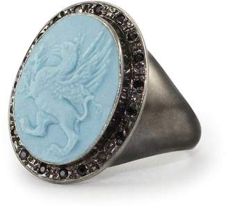 Vintouch Italy - Grypho Signet Ring