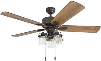 Union Rustic 52 Osteen 5 Blade LED Ceiling Fan