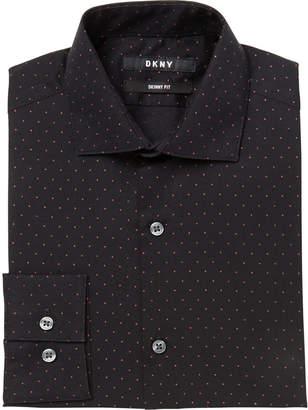 DKNY Big Boys Dot-Print Shirt