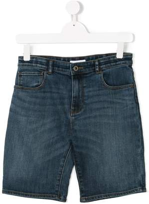 Burberry TEEN five pocket denim shorts