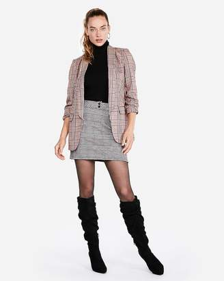 Express Slouch Heeled Booties