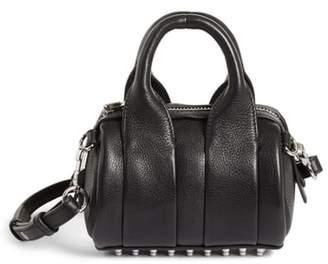 Alexander Wang Baby Rockie Leather Satchel