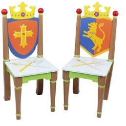 Teamson Knights & Dragons Chairs/Set of 2