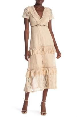 Just Me Lace Maxi Dress