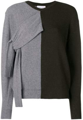 Carven double-faced knit sweater