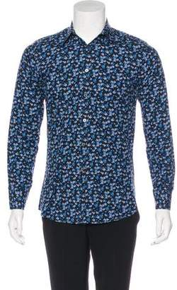 Paul Smith Floral Button-Up Shirt