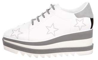 Stella McCartney Elyse Star Platform Oxfords