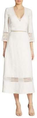 Ralph Lauren Collection Francesca Linen Dress