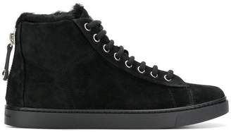 Gianvito Rossi lace-up hi tops
