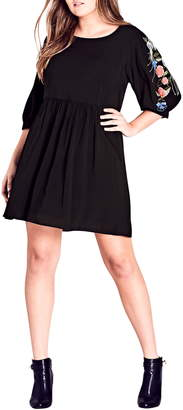 City Chic Phoenix Dress