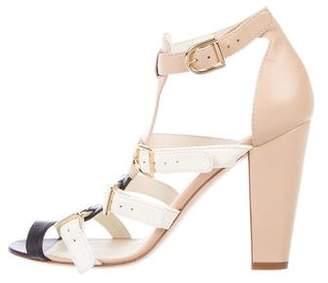Chanel CC Multistrap Sandals