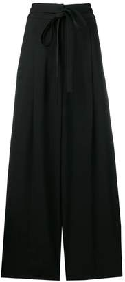 Rochas high waisted wide leg trousers