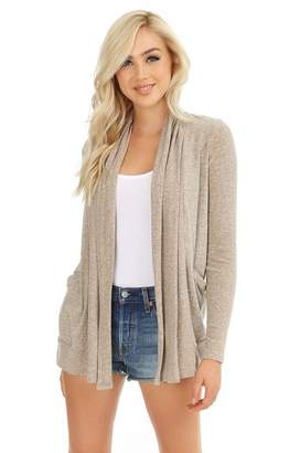 Bobi Long-Sleeve Pocket Cardigan