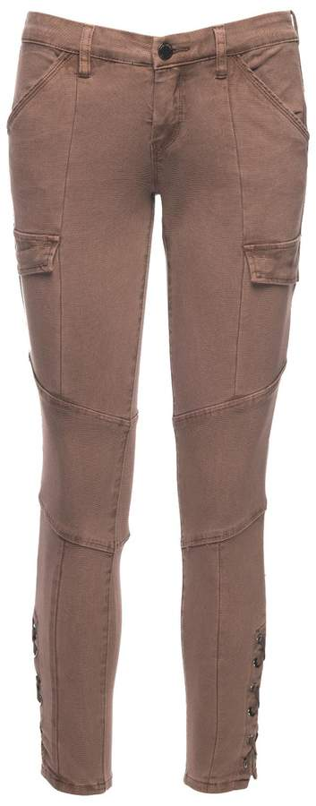 Blank NYC Taupes Off Cargo Jeans