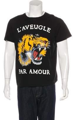 Gucci 2017 Tiger Print T-shirt