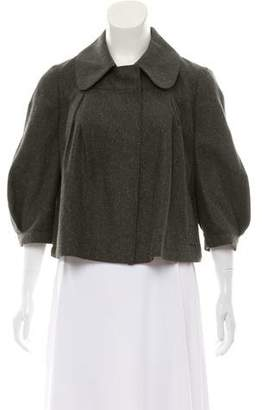 See by Chloe Wool-Blend Cropped Jacket
