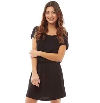 Board Angels Womens Short Sleeved Jersey Dress Black