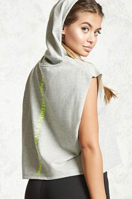 Forever 21 French Terry Graphic Hoodie